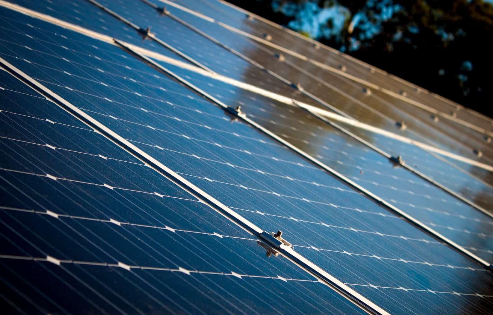 partial photo of solar bank